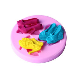 3 in 1 Ladies Sandal Silicone Mould