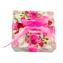 Pink card Boxes