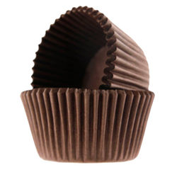 Brown Color Cup Cake Liner (Small)