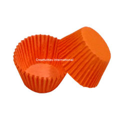 Orange Color Cup Cake Liner (Small)