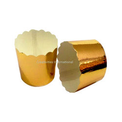 Golden Color Cup Cake Liner