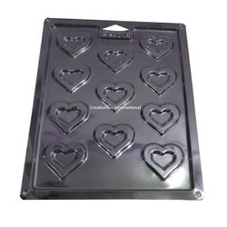 Double Heart PVC Thin Mould