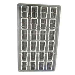 Designer Rectangle Shape Polycarbonate chocolate mold