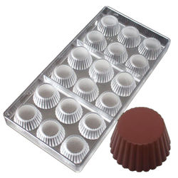 Designer Round Shape Polycarbonate Chocolate Mold