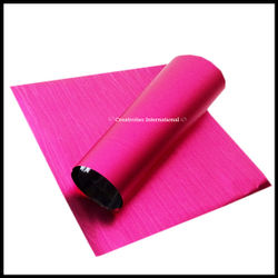 Pink Mat Finishing sheets