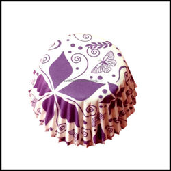 Cupcake Liners Flower & Butterfly Design_9 cm
