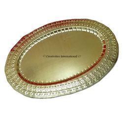 Golden Oval Dry Fruit Platter (Small)