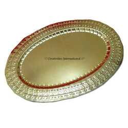 Golden Oval Dry Fruit Platter (Big)