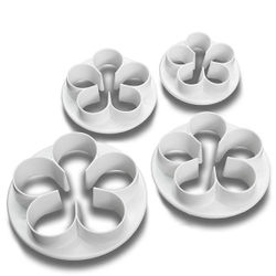 5 Leaf fondant flower Cutter