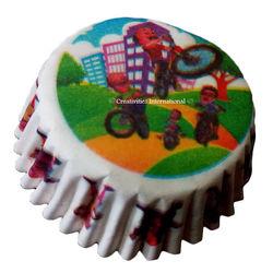 Motu-Patlu With Friend Cupcake Liners (Small)
