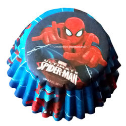 Spiderman Cupcake Liners (Small)
