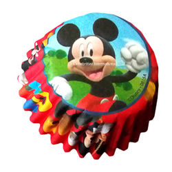 Mickey mouse Cupcake Liners (Small)