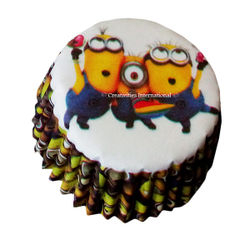Minion Cupcake Liners (Small)