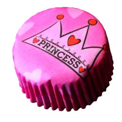 Princess Cupcake Liners (big)