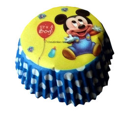 Mickey Mouse Cupcake Liners (big)