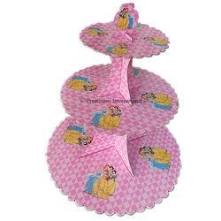 Princess Cardboard Cupcake Stand