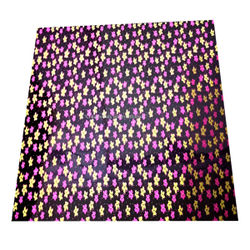 Pink & Yellow Flower sheet