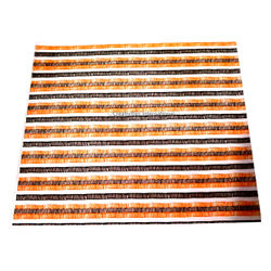 Orange & Brown Stripes Transfer sheet