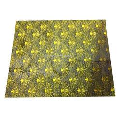 Fan Flower Chocolate sheet