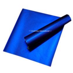 Blue matt finish wrapping paper