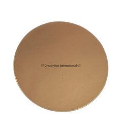 Gold Round Cake Board 8 Inch