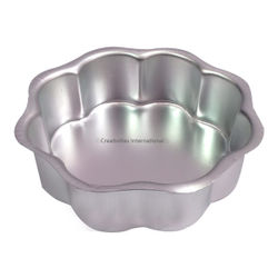 Flower Shaped Cake Pan(7.5 INCH*7.5 INCH*2 INCH) MEDIUM SIZE