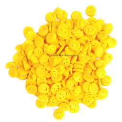 Yellow Smiles Shapes CupCake Sprinkles (1mm)
