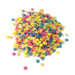Colorful Stars sprinkles (2mm)