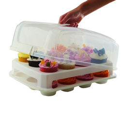 Mini Cupcake Carrier with lid