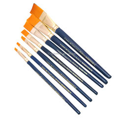 Professional Cake Faber Castells brush sets of 7 Flat tips