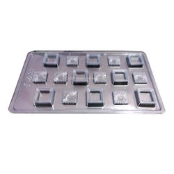 Designer Square Shape  Mold