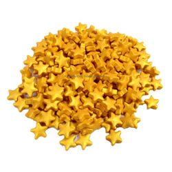 Golden Star Sprinkles (1cm)