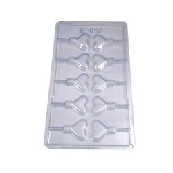 Plastic Heart Candy Chocolate Mold