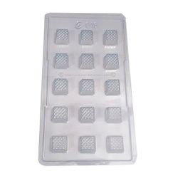 Plastic Square Block Chocolate Mold