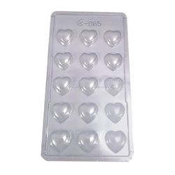 Simple Heart Chocolate Mould