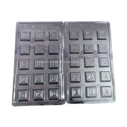 Alphabet Plastic Chocolate Mould ( Set of 2 )