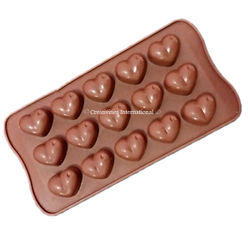 Dotted Heart silicone Chocolate mould