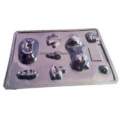 PLASTIC Sleeping BABY CHOCOLATE MOULD