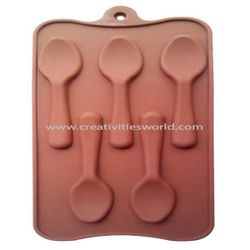 Brown Spoon Chocolate Mould