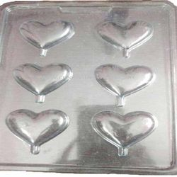 Plastic small heart Mould