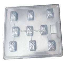 Plastic small Gift Box Chocolate Mould