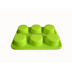 6 pcs Round chocolate Mould