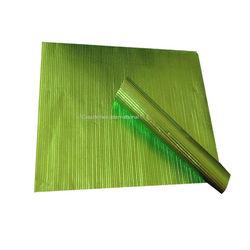 Green Lining Embossed Sheet