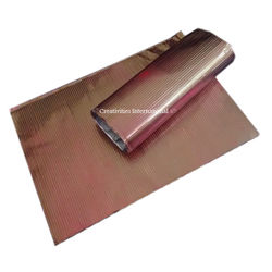 Brown Lining Embossed Sheet