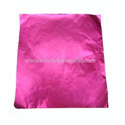 Metalic Plain Pink Sheets