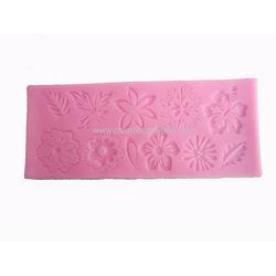Pink Flower Mat