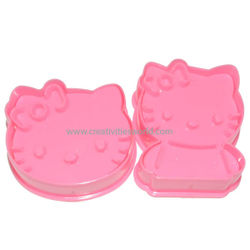 Hello Kitty Cookie Cutter(Plastic)
