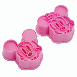 Mickey & Minnie Mouse Cookie Cutter