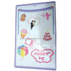 Engagement Theme Cake Sticks