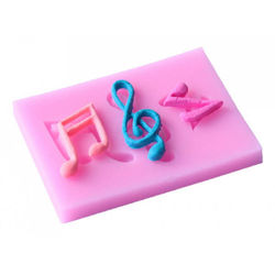 Music Silicone Mould